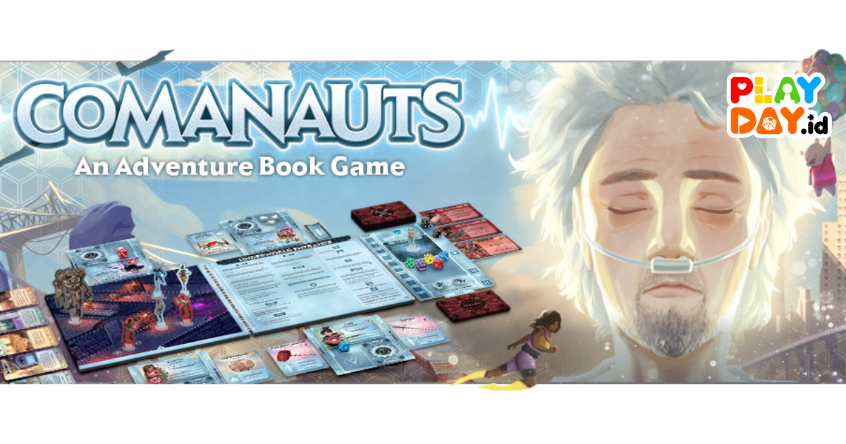 [Segera Hadir] Board Game Kooperatif : COMANAUTS