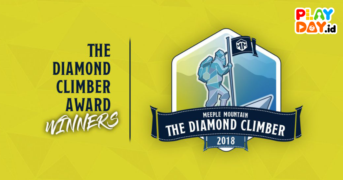 Meeple Mountain Boardgame Award : The Diamond Climber 2018