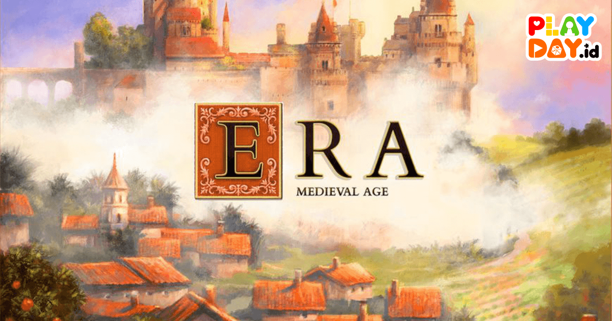 [REVIEW] Penerus Roll Through The Ages, New Board Game Era : Medieval Age