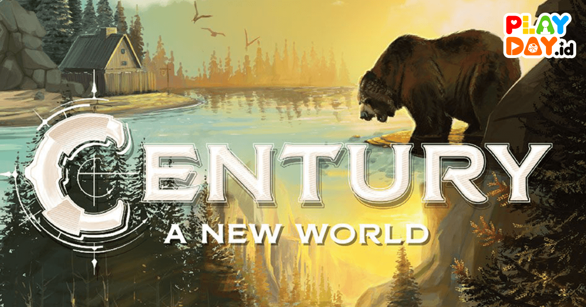 [REVIEW] BOARD GAME BARU PLAN B GAMES, CENTURY : A NEW WORLD
