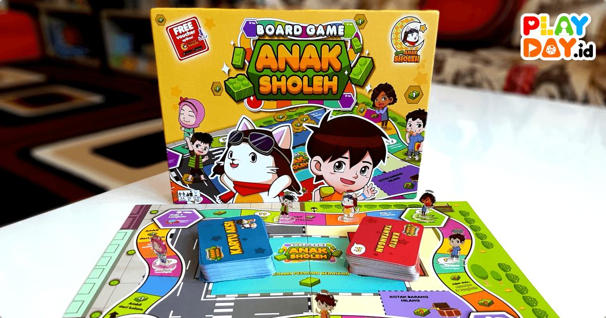 [REVIEW] Belajar Jadi Anak Sholeh Lebih Menyenangkan Dengan Bermain Board Game Anak Sholeh