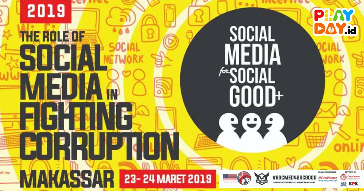 [EVENT] #SocMed4SocGood 2019 Kota Makassar