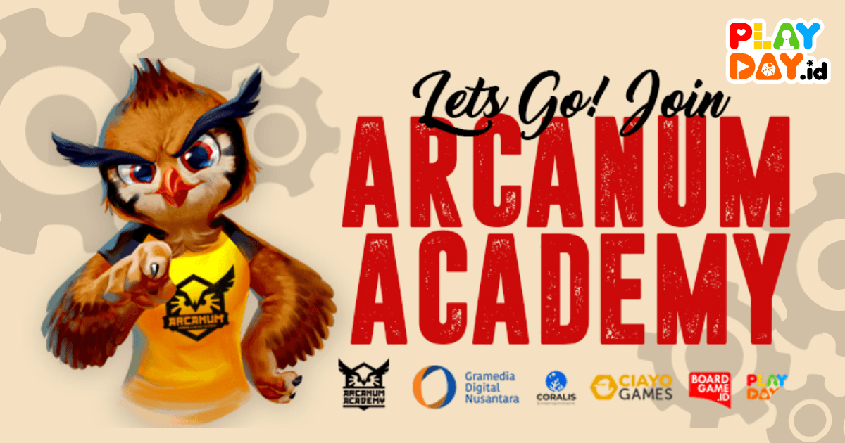 Arcanum Academy Batch 2 : Kelas Belajar Game Design Board Game