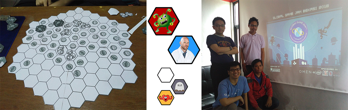 Vaxx Challange, Board Game pada Global Game Jam 2018 (Part 2)