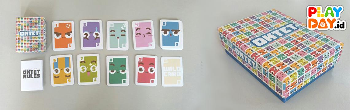 [REVIEW] Oktet Card Game, Membuatmu Melupakan UNO