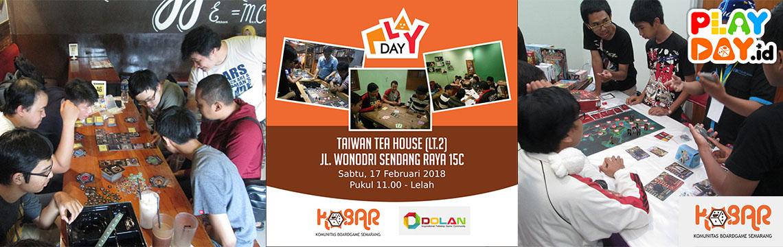 Nikmati Long Weekend dengan Bermain di Playday KOBAR (Komunitas Board Game Semarang)