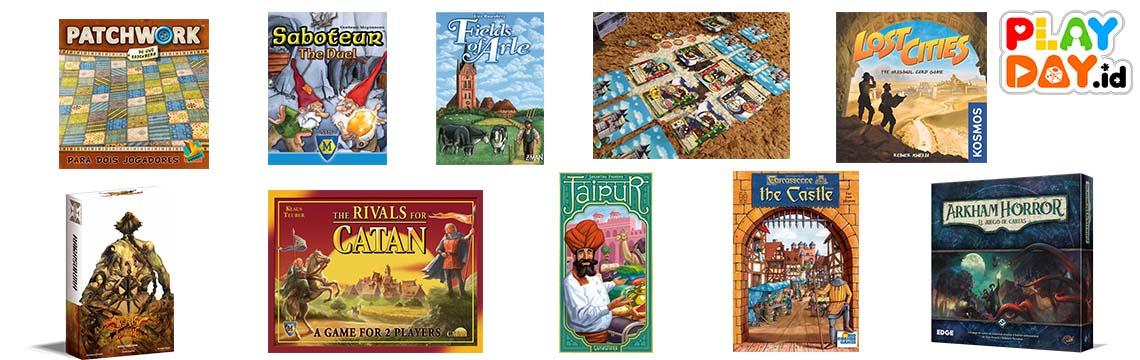 10 Board Game yang Asik Dimainkan oleh Dua Pemain
