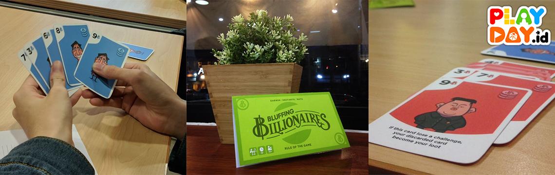 Jadilah Milyarder Terkaya dalam Bluffing Billionaire!