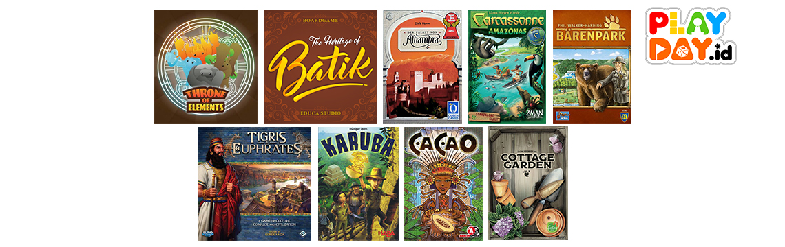 9 Board Game Seru dengan Mekanik Tile Placement