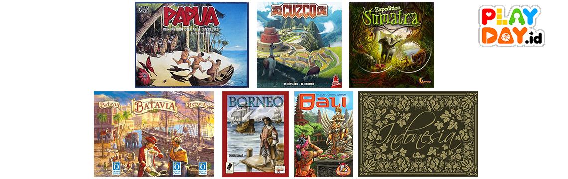 7 Board Game Mancanegara dengan Setting Lokasi Indonesia