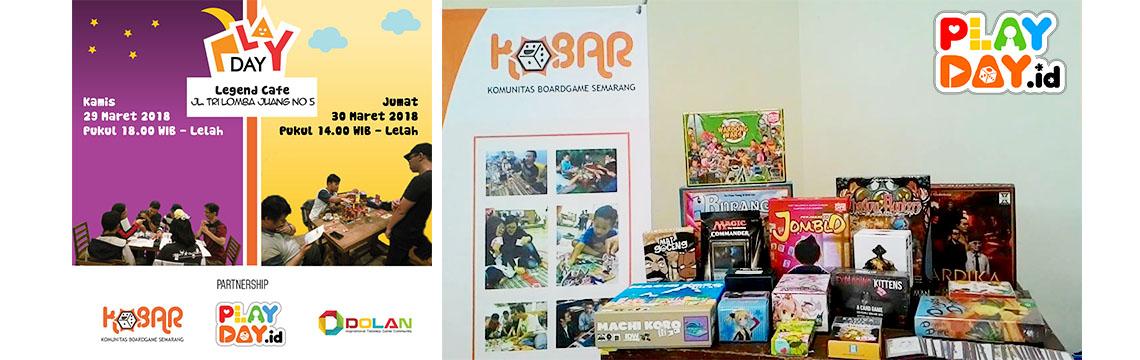 [EVENT] Datang dan Bermain Bersama di PlayDay KOBAR