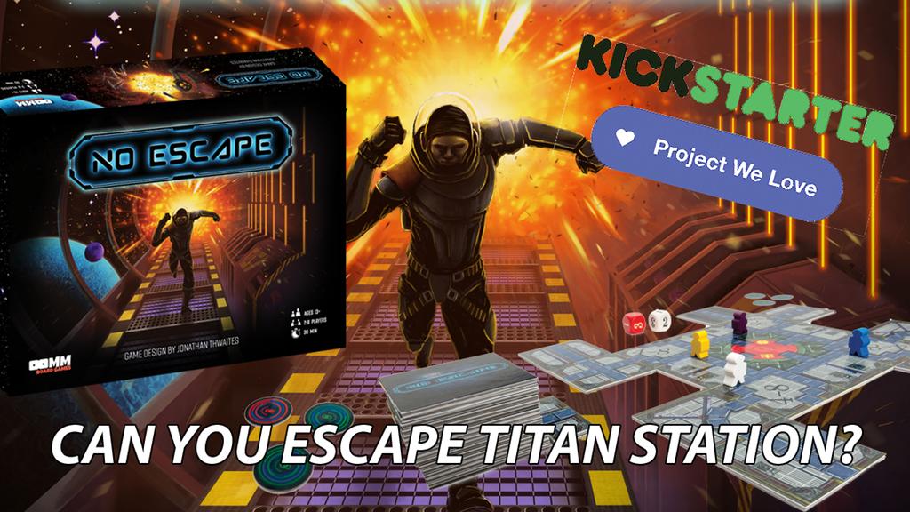 [KICKSTARTER] NO ESCAPE, Selamatkan Dirimu dari Titan Station!