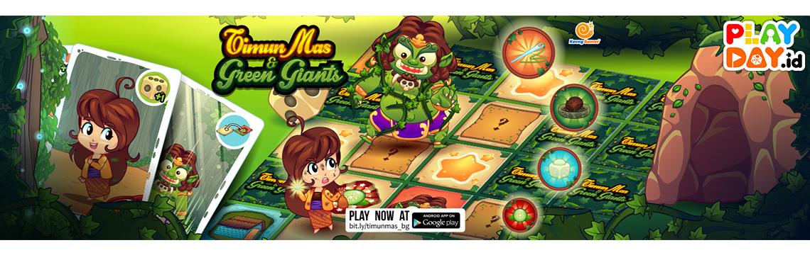 Timun Mas & Green Giants, Digital Board Game Asli Indonesia Pertama