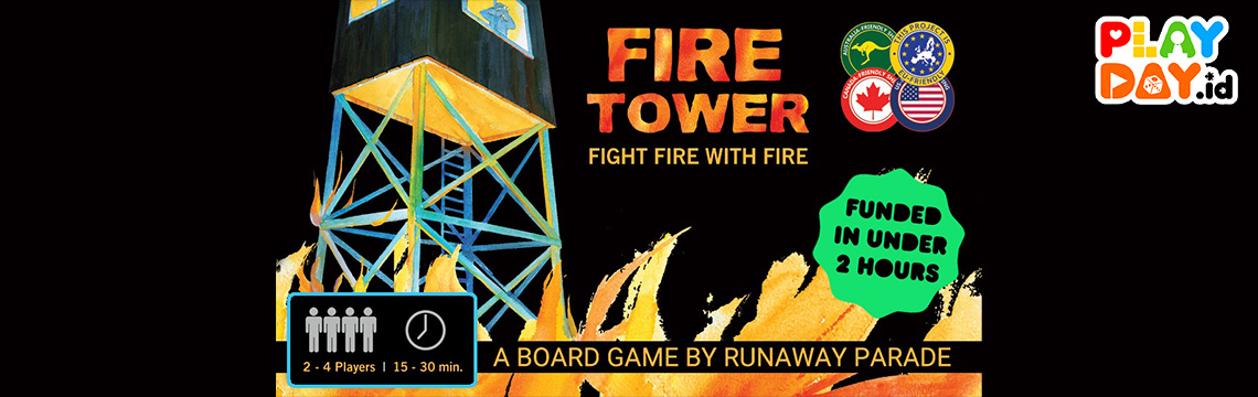 [KICKSTARTER] Fire Tower, Pertahankan Menaramu dari Badai Api
