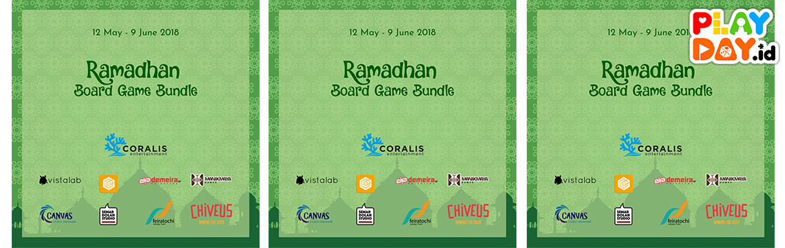 Press Release Ramadhan Board Game Bundle