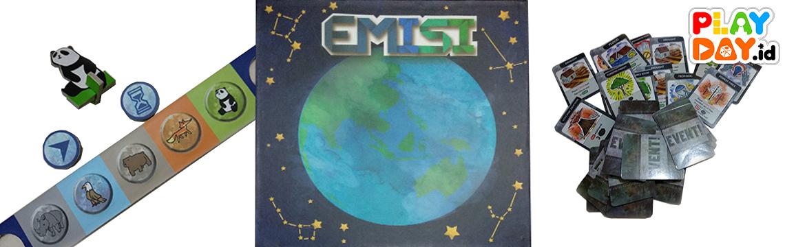 """Sulitnya Menghadapi Perubahan Iklim dalam Board Game """"EMISI"""""""
