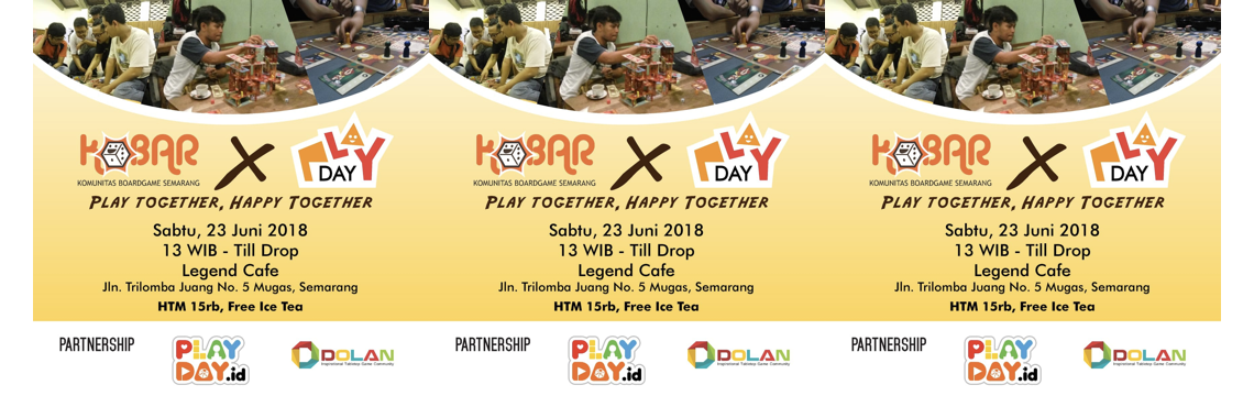 PLAY TOGETHER, HAPPY TOGETHER DI SEMARANG