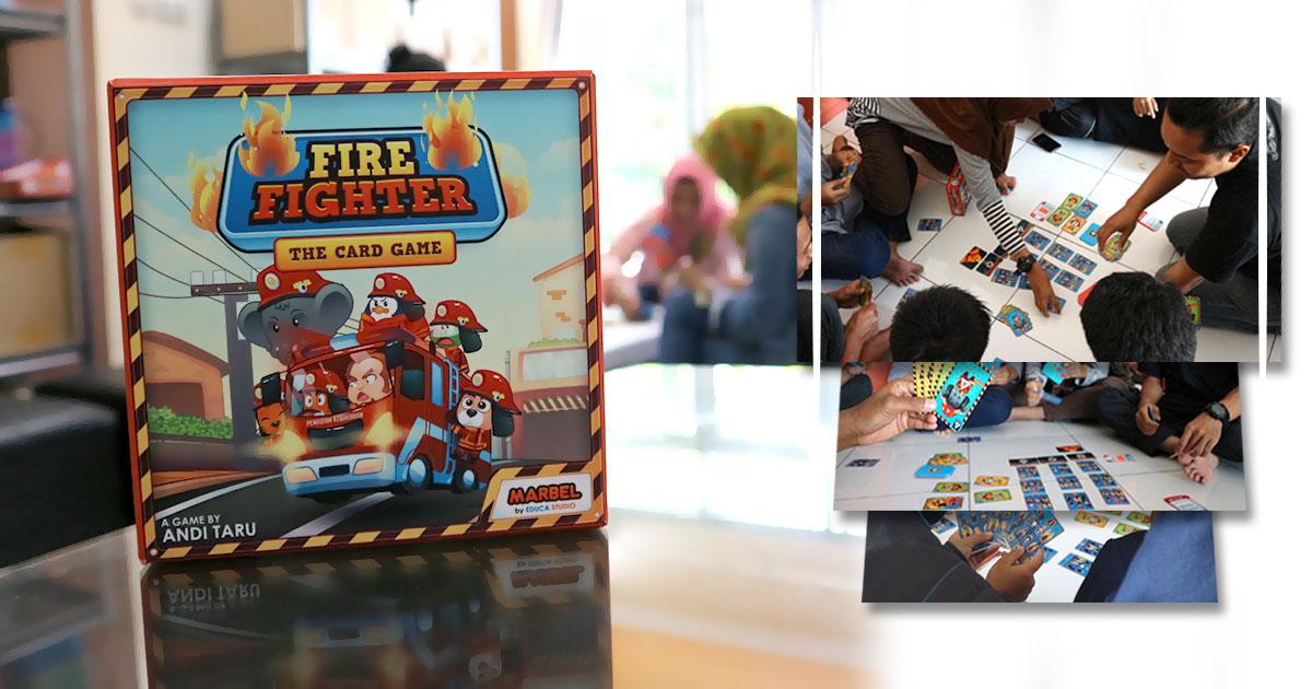 JADILAH PEMADAM KEBAKARAN TERBAIK DALAM CARD GAME, MARBEL FIREFIGHTER