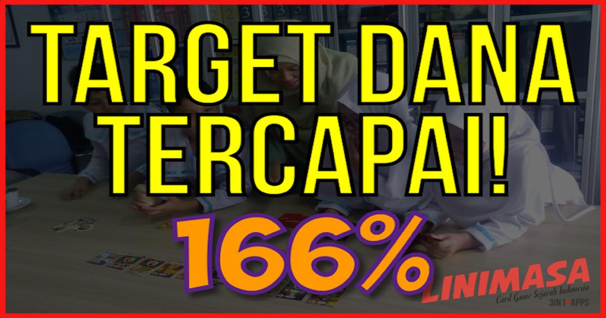 Target Galang Dana Linimasa Card Game Tembus 166% dalam 14 Hari!
