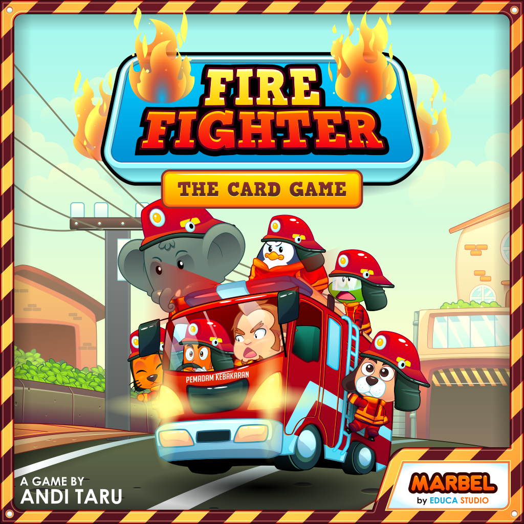 Marbel Fire Fighter - Card Game