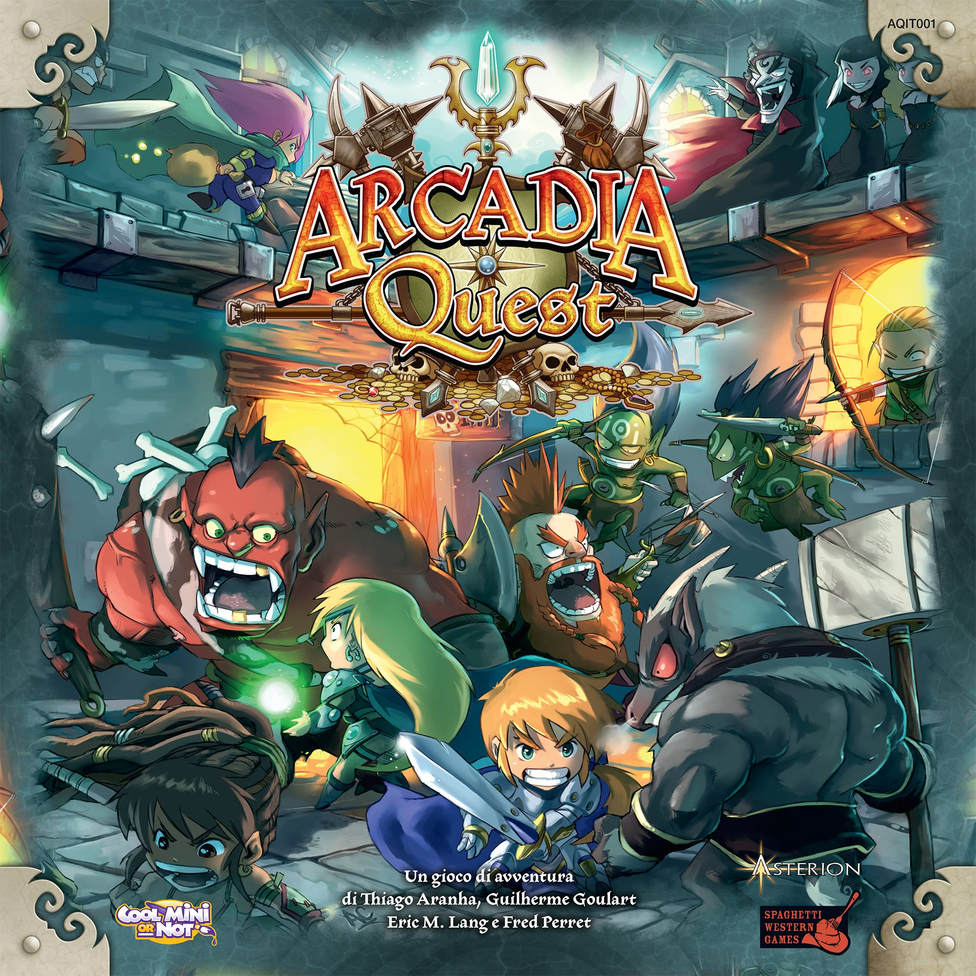 Miniatures : Arcadia Quest