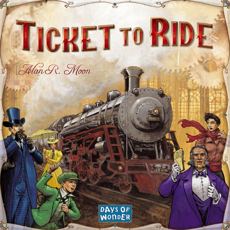 Trains : Ticket to Ride