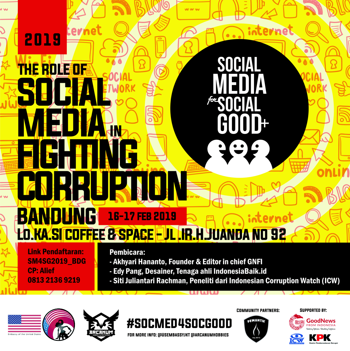 Foto : #SocMed4SocGood Event