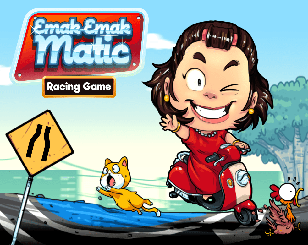 Gambar : Board game Emak-Emak Matic
