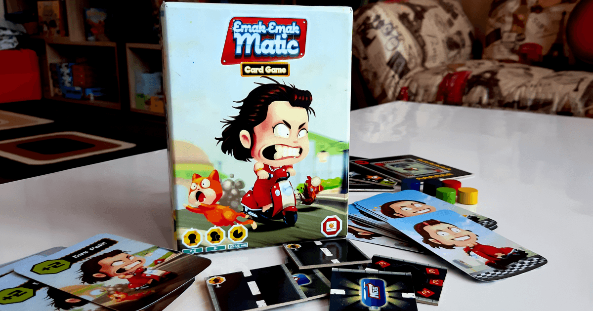 Foto : Board game Emak-Emak-Matic