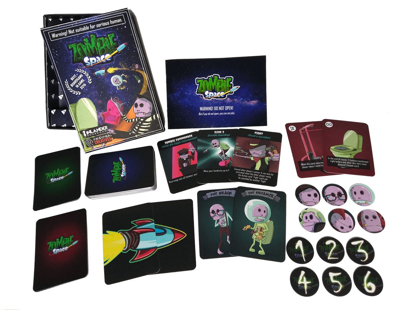 Zombie Space Card Game